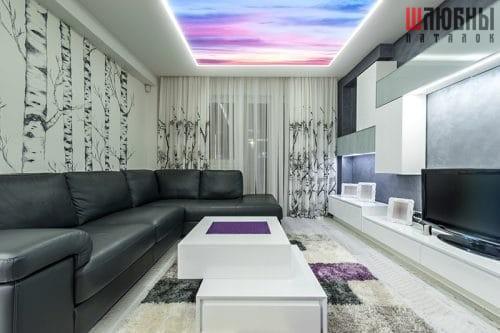 Арт потолок в Беларуси
