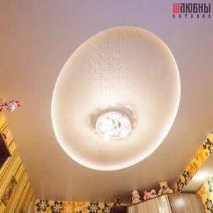 Двухуровневый потолок с подсветкой в детскую